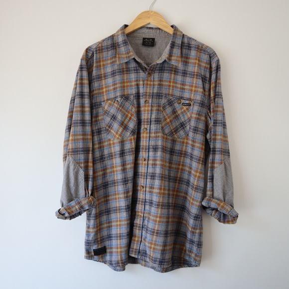 Oakley Other - Oakley - Crisp Fall Long Sleeve Plaid Shirt XL
